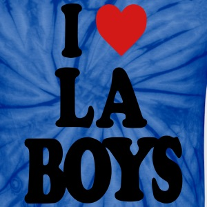 I LOVE LOS ANGELES BOYS-LA T-Shirts - Unisex Tie Dye T-Shirt