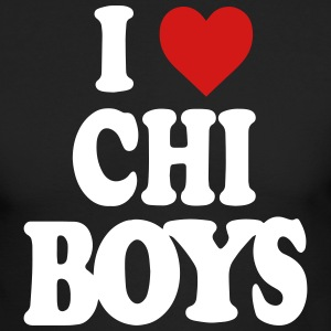 I LOVE CHICAGO BOYS-CHI Long Sleeve Shirts - Men's Long Sleeve T-Shirt by Next Level