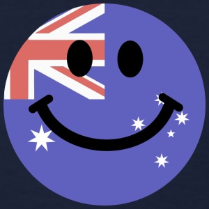 Australian flag smiley face Women's T-Shirts - Women's T-Shirt