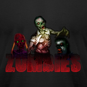 Zombies - Men's T-Shirt by American Apparel