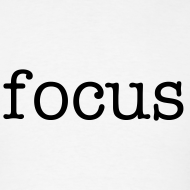 Design ~ focus t-shirt standard sizes