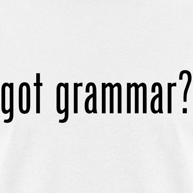 Got Grammar?