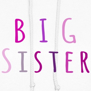 Big Sister in pink Hoodies - Women's Hoodie