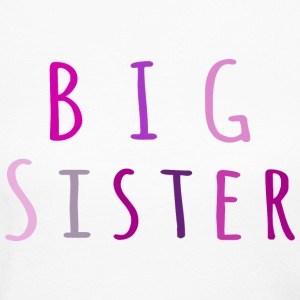 Big Sister in pink Long Sleeve Shirts - Women's Long Sleeve Jersey T-Shirt