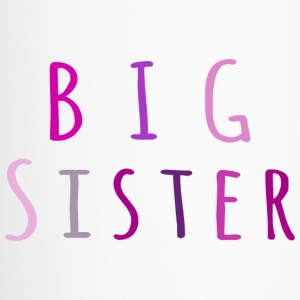Big Sister in pink Bottles & Mugs - Travel Mug