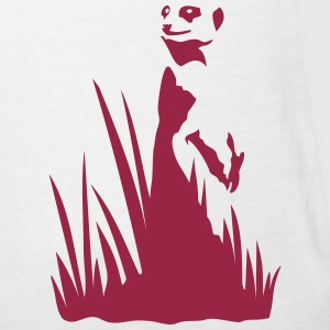 meerkat standing in the grass Women's T-Shirts - Women's T-Shirt