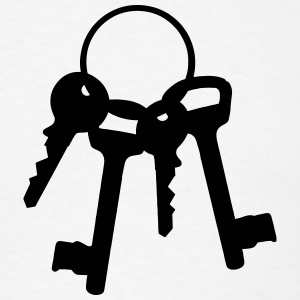 4 keys on the ring T-Shirts - Men's T-Shirt