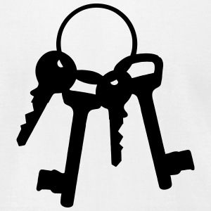 4 keys on the ring T-Shirts - Men's T-Shirt by American Apparel