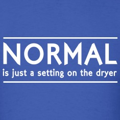 Normal is just a setting on the dryer T-Shirts