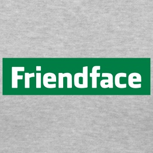 FriendFace Shirt - IT Crowd - Women's V-Neck T-Shirt