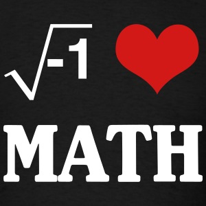 I Love Math T-Shirts - Men's T-Shirt