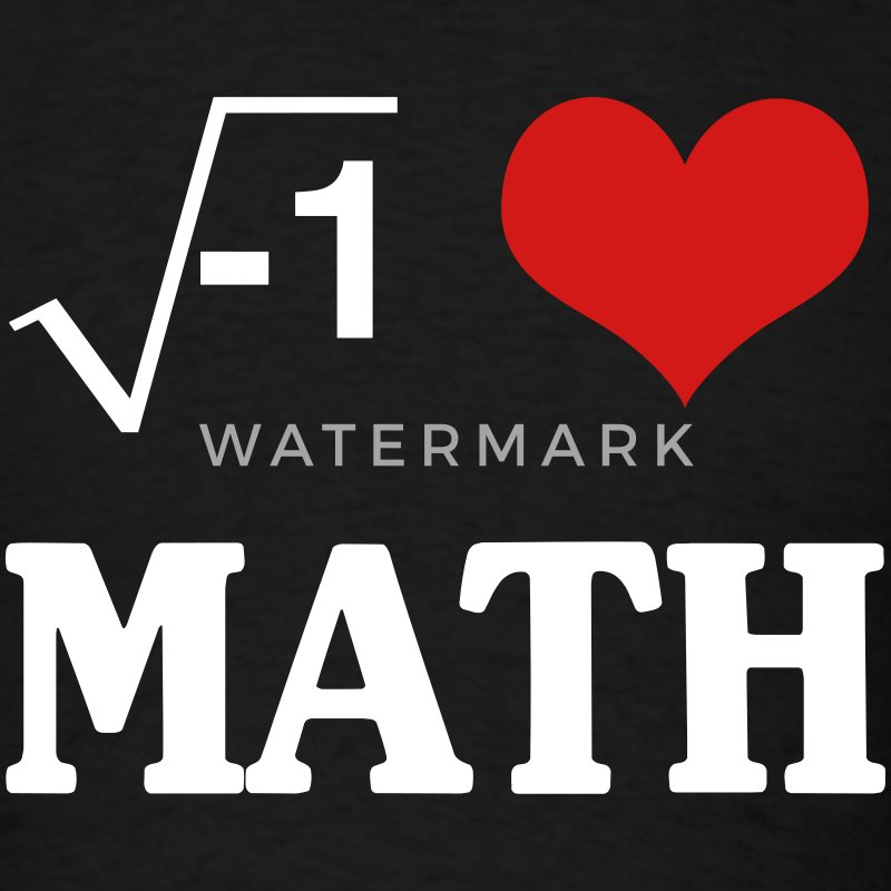 Safety Yellow Shirts >> I Love Math T-Shirt | Spreadshirt