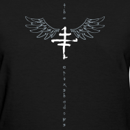 Design ~ Girls Cruxshadow Logo T with Wings