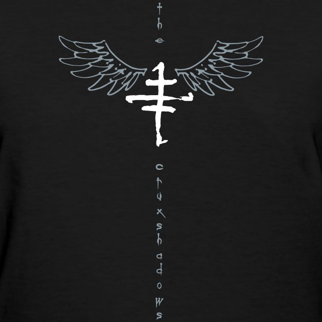 Girls Cruxshadow Logo T with Wings