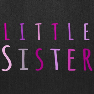 Little sister in pink Bags & backpacks - Tote Bag
