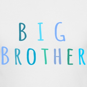 Big Brother in blue Long Sleeve Shirts - Men's Long Sleeve T-Shirt by Next Level