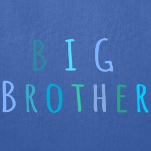 Big Brother in blue Bags & backpacks - Tote Bag