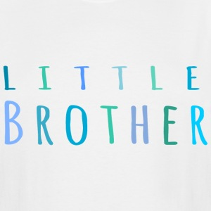 Little Brother in blue T-Shirts - Men's Tall T-Shirt