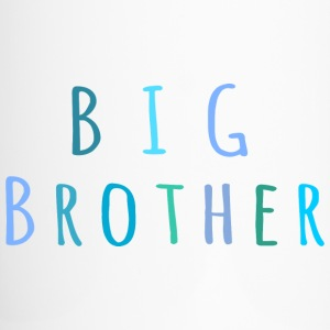 Big Brother in blue Bottles & Mugs - Travel Mug