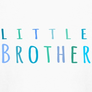 Little Brother in blue Kids' Shirts - Kids' Long Sleeve T-Shirt
