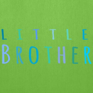 Little Brother in blue Bags & backpacks - Tote Bag