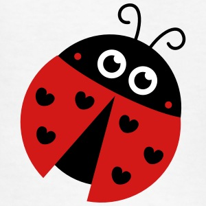 cute ladybug with heart spots Kids' Shirts - Kids' T-Shirt