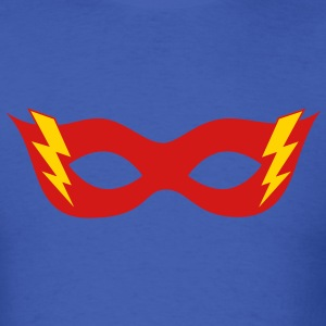 Comic, Cartoon, Hero mask, Flash, Super Hero, Fun T-Shirts - Men's T-Shirt