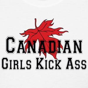Canadian Girls Kick Ass T-Shirt - Women's T-Shirt