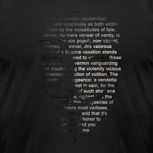 V_Intro - Men's T-Shirt by American Apparel
