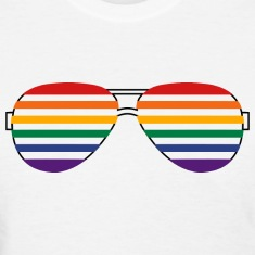Rainbow Shades Women's T-Shirts