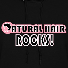 Natural Hair Rocks Hoodies