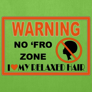 No Fro Zone Bags & backpacks - Tote Bag