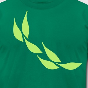 Green leaves nature  Men's  T-shirt - Men's T-Shirt by American Apparel