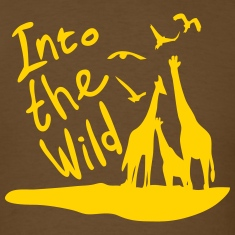 Into the wild Safari Men's Standard Weight T-Shirt