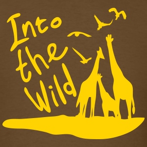 Into the wild Safari Men's Standard Weight T-Shirt - Men's T-Shirt