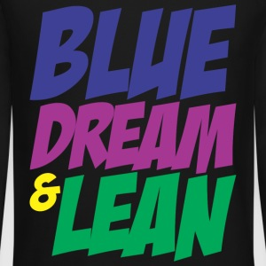 Blue Dream & Lean Long Sleeve Shirts - Crewneck Sweatshirt
