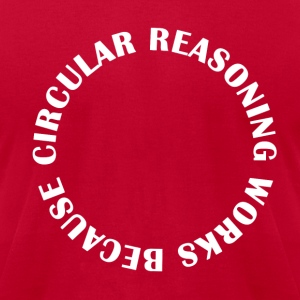 Circular Reasoning - Men's T-Shirt by American Apparel