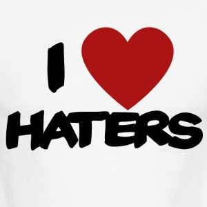 I Love Haters - Men's Ringer T-Shirt