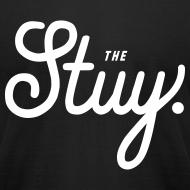 """Design ~ Mens """"The New Stuy"""" Logo Tee Black"""