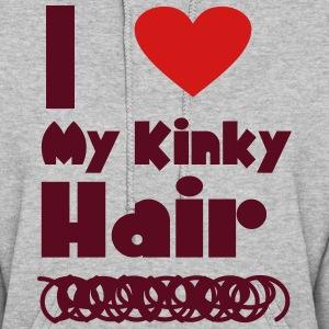 I Love My Kinky Hair T Shirt Hoodies - Women's Hoodie