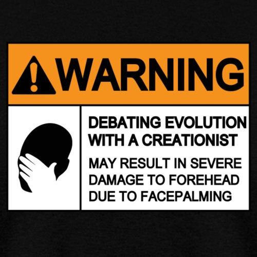 WARNING FACEPALMING (evolution)