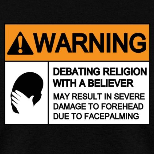 WARNING FACEPALMING (religion)