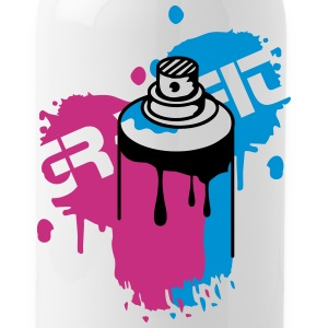 Spray can Graffiti Style Bottles & Mugs - Water Bottle