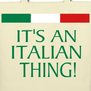 IT'S AN ITALIAN THING! Bags & backpacks - Eco-Friendly Cotton Tote