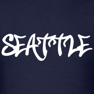 Seattle Graffiti T-Shirts - Men's T-Shirt