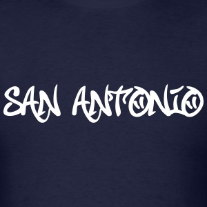 San Antonio Graffiti T-Shirts - Men's T-Shirt
