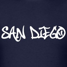 San Diego Graffiti T-Shirts