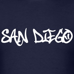 San Diego Graffiti T-Shirts - Men's T-Shirt
