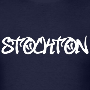 Stockton Graffiti T-Shirts - Men's T-Shirt