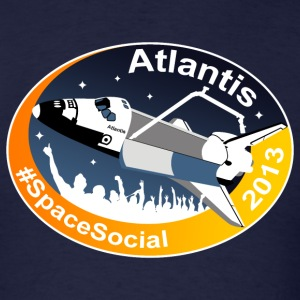 Atlantis Space Social T-Shirts - Men's T-Shirt